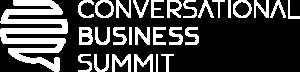 Conversational Business Summit 2021 Logo White